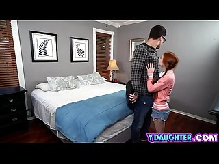 Redhead doll school girl flirting on big cock private tutorh more 2