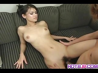 Naughty tokyo babe Maria ozawa gets pussy licked and banged hard in cosplay