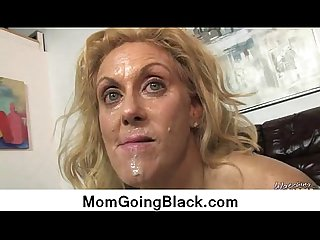 Interracial hard fuck with nasty milf 1