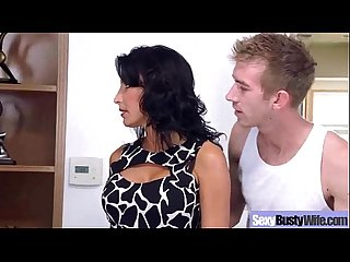 lezley zen busty hot mature housewife get sluty in hard Sex scene mov 21