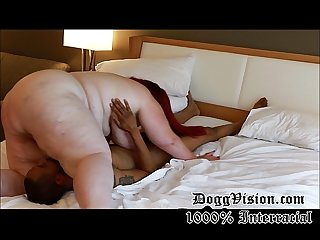 White ssbbw anal wife skinny black man