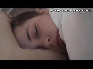 Voyeur Sleeping teen
