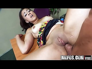 (Sophia Torres) - Flashing the Film Class - Lets Try Anal