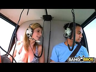 Bangbros can he score featuring milf sara jay and a very lucky fan