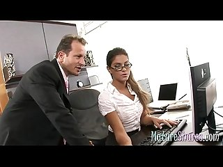 Office secretary hardcore fucked