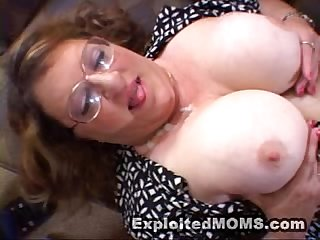 Librarian Mom gets Freaky W a Big Black Cock in Interracial Video