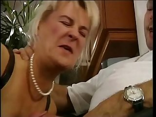 Cute blonde fucked hard on a couch!