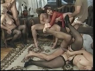 Anal orgy with hot older women .see more videos on fucktube8.com