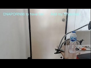 Fuck infont of webcam