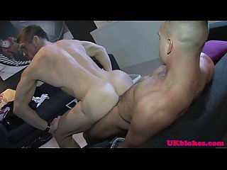 Muscular british English blokes bum Sex