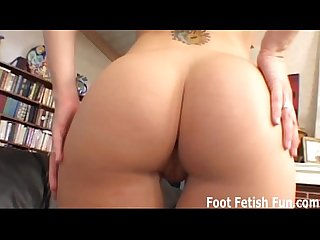 I am going to wrap my feet around your cock