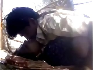 Indian Desi village bhabi outdoor porn video