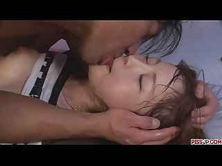 Maomi Nakazawa gives a slow asian blow job and gets fucked - More at Pissjp.com