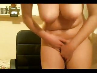 Milf masturbating and getting wet riding A dildo my x mas live webcam show 4x