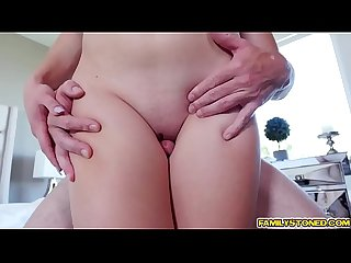 Kasey miller getting her pussy doggystyle fuck by step dad excl