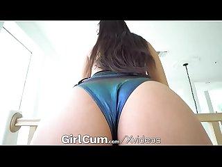 GIRLCUM Big Dick Pounds G Spot! Multiple NON STOP Orgasms