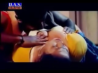 South Indian couple movie scene