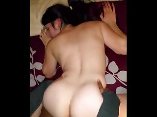 Cuckold amateur hotwife big creampie on cuckold666 com