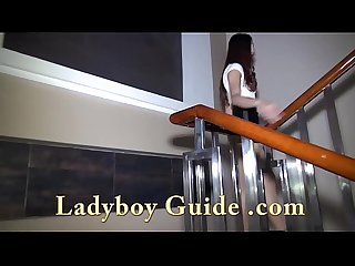 Ladyboy pickup and pose