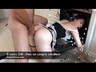 9 webcam en direct chez une vraie Amatrice et libertine