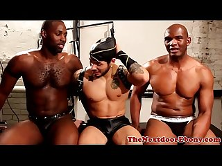Gaysex ebony toying his asshole
