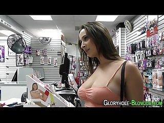 Busty ho fucks black cock