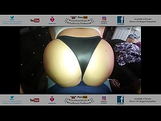 Big booty latina from gym comes fucks in her sexy black thong