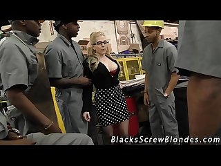 Blonde ho rides black rod