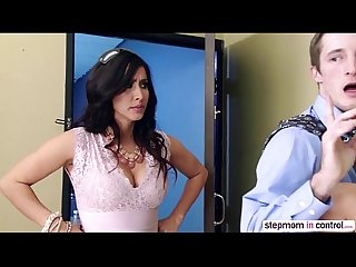 Horny babe ariana marie gets fucked in the office by her dads worker