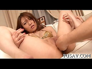 Watch wicked asian rubs her cunt