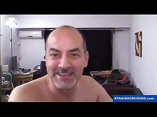 Horny daddies fucking