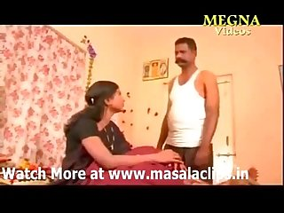 Mallu aunty enjoying with servant hot nude boobs