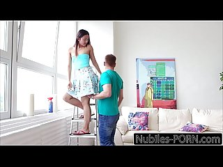 Nubiles porn my foreign teen step sis swallows