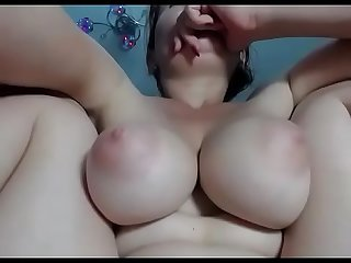 Sexy big tits girl wants to cum