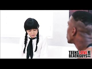 Black guy fucks his teen japanese tutor teensloveblackguys com
