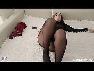 Hot Wife Fucks Husband Friend POV - Cristall Gloss