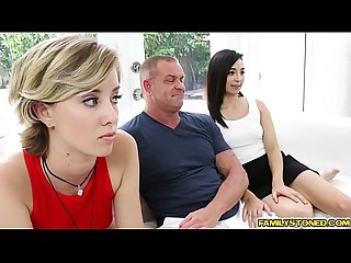 Malina mars fucks doggystyle by step dad