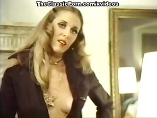 Lyn Cuddles Malone, Dan Roberts, Joey Silvera in vintage porn movie