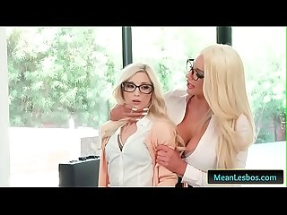 Hot and Mean - Showing Her Who's Boss with Nicolette Shea & Piper Perri free clip-01