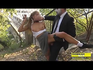 outdoor humiliation