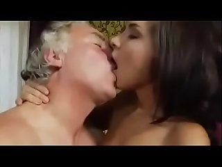 Teen fucks old man