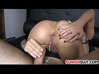 Slave Julia de Lucia anal filled by big dick master