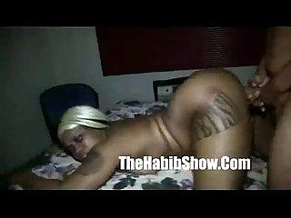 Redzilla monster Dick fucks tattooed freak goddess chi town