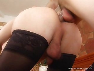 Fuck my bitch shes a tranny scene4