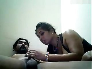 Indian Couple POV BlowJob- fierycamgirls.com
