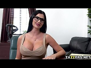 Jasmine Jae gave Keiran Lee a hot blowjob