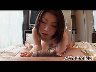 Sexy milf devours big cock