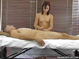 Cock massage brandi belle