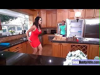(Reagan Foxx) Superb Wife With Big Juggs Love Hard Style Intercorse Clip-20