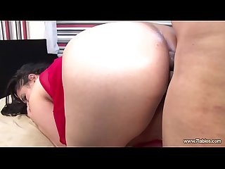 Esposa teniendo sexo anal en c�mara